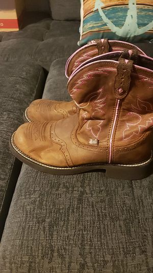 Justin cowboy boots size 10/12 for Sale in Zephyrhills, FL