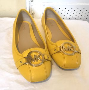 "Michael kors yellow Fulton moccasins size 9"" for Sale in Redondo Beach, CA"