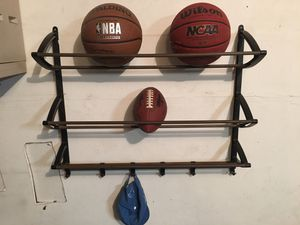 Lynk wall mounted sports rack for Sale in Rochester Hills, MI