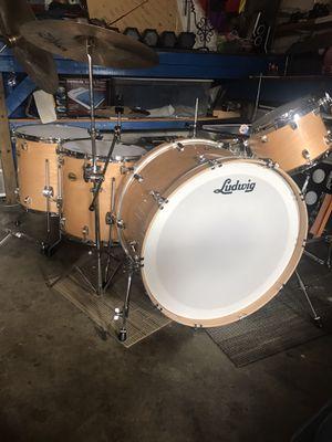 13 piece Drum Set (most pieces are high dollar) for Sale in Gardner, KS