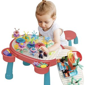 Flower Garden Building Toys & Marble Run Building Blocks Kids Activity Table, Toy for 3 4 + Year Old Girls Boys, Pretend Gardening & Building Educatio for Sale in Hialeah, FL