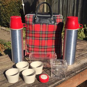 Vintage Thermos Lunch Kit / Picnic Set for Sale in Bowling Green, KY