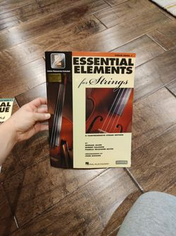 Essential Elements For Strings. Violin Book 1 for Sale in Vancouver,  WA