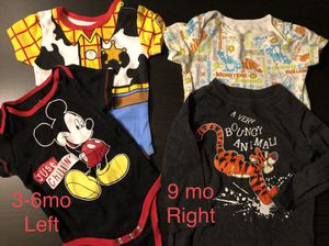 12 peice kids/boys Disney clothes (3-6mo, 9 mo, 12 mo, 24 mo) for Sale in Holbrook, MA