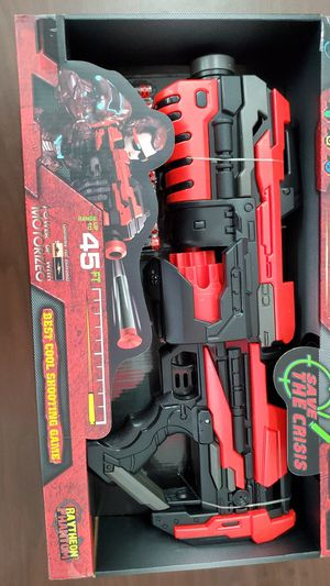 Phantom nerf gun battery power New for Sale in Houston, TX