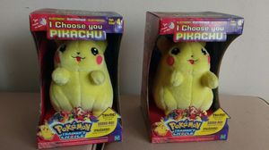 Pokemon Pikachu electronic talking plush toy for Sale in West Hollywood, CA