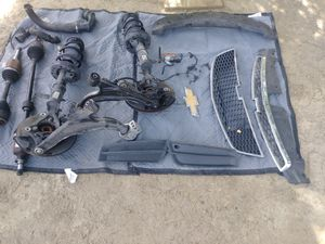 2014 Chevy Cruze parts suspension right and left, axels, grills, foam absorbent, logo for Sale in Menifee, CA