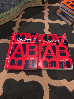 Saxon Algebra2 with Solution Manual for Sale in Avondale, AZ
