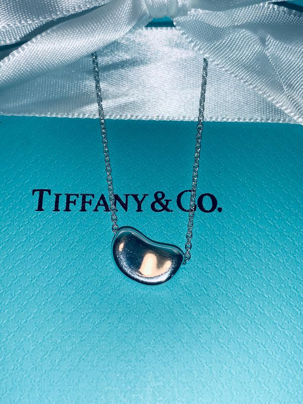 Tiffany and co. Bean necklace