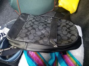 Coach men's messenger bag/backpack for Sale in Garden Grove, CA