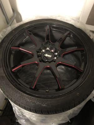 """20"""" rims and tires for Sale in Ruskin, FL"""