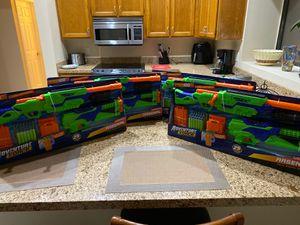 Value pack nerf guns. 4 packs total of 8 nerf guns for Sale in Scottsdale, AZ