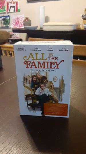 All in the Family the complete series DVD Box Set for Sale in Dallas, TX