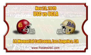 Selling 2 USC v UCLA tickets for Sale in Los Angeles, CA