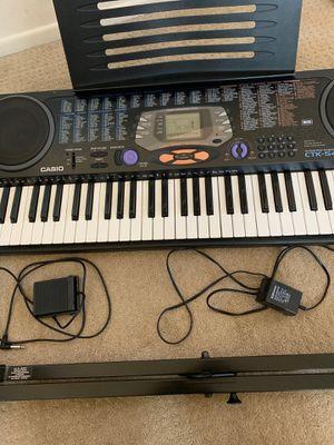 Casio CTK-541 61 Key Electronic Keyboard for Sale in Irvine, CA