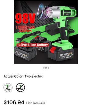 Impact Wrench 98V 320Nm Brushless Motor for Sale in La Vergne, TN