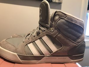 Gray ADIDAS high top for Sale in Brick Township, NJ