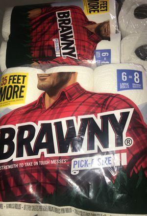 Brawny Paper Towels for Sale in Chesapeake, VA