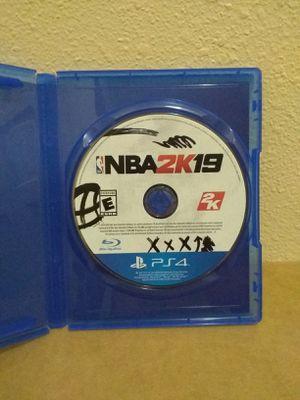Nba 2K19 Ps4 for Sale in Fresno, CA