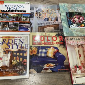 6 books garden home flower color books for Sale in City of Industry, CA