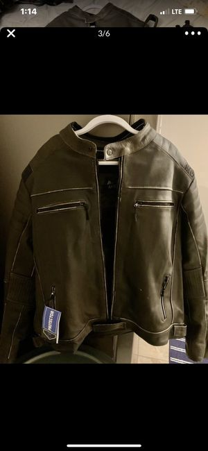Men's Leather Motorcycle Jacket XXL for Sale in Palacios, TX
