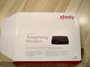 Arris Touchstone TM822G Internet and Voice Modem for Xfinity from Comcast for Sale in Marlboro Township, NJ