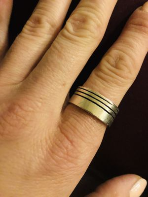 Men's stainless steel ring size 11 for Sale in Dallas, TX