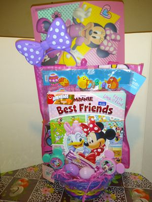 Minnie mouse Easter Basket for Sale in San Bernardino, CA