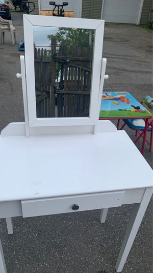 Table with mirror for Sale in Lawrence, MA