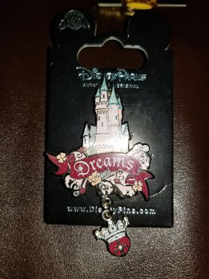 DISNEY DLR CASTLE SERIES PIN for Sale in Beaumont, CA