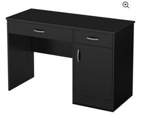 South Shore Smart Basics Small Work Desk, BLACK for Sale in Mount Laurel Township,  NJ