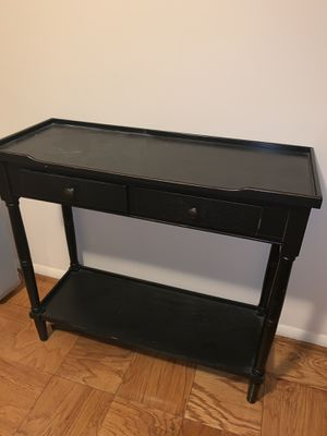 Black console table for Sale in Adelphi, MD