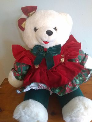 Christmas bear for Sale in New Canton, VA