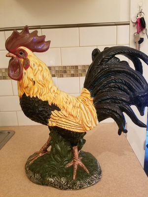 Ceramic Rooster Decor from Blue Sky for Sale in Long Beach, CA