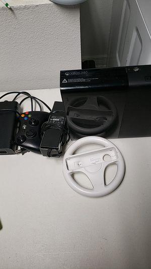 XBOX 360 & WII steering wheel for Sale in Poinciana, FL