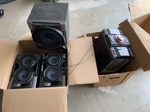 Sony stereo system for Sale in Sun City, AZ