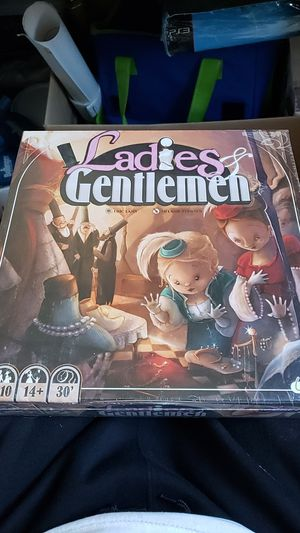 New never opened never used Ladies And Gentlemen board game. for Sale in Queens, NY