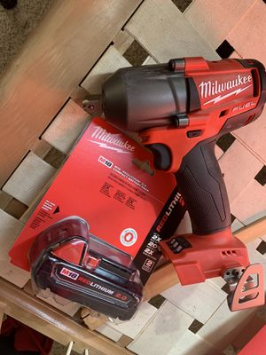 Milwaukee fuel mid impact wrench for Sale in Boone, CO