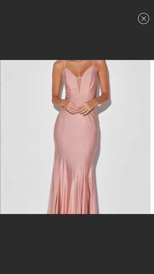 Pink Satin Long Dress for Sale in Brooklyn, NY
