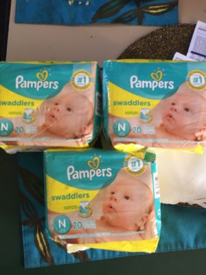 Size n pamper take (3 packs) $15 for Sale in Long Beach, CA