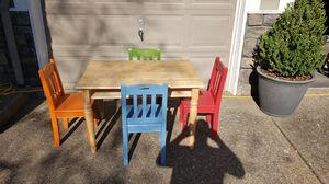 Childrens Table Desk and Chairs for Sale in Newberg, OR