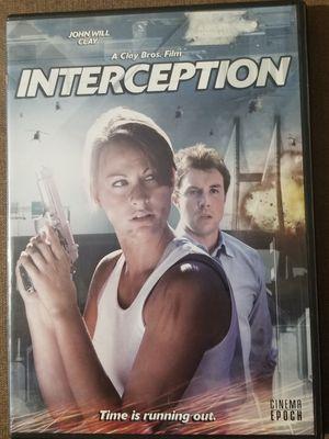 Interception DVD movie stars John Will Clay for Sale in Three Rivers, MI