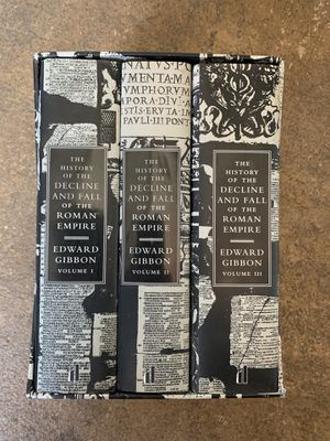 Edward gibbon decorative books - Roman Empire for Sale in Oakland, CA