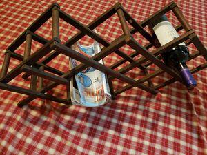 Wood wine rack/magazine organizer for Sale in Ocala, FL