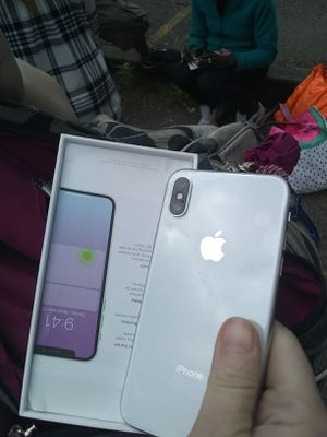 iPhone x brand new in box for Sale in Portland, OR