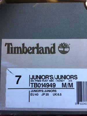 Juniors timberland for Sale in Tampa, FL