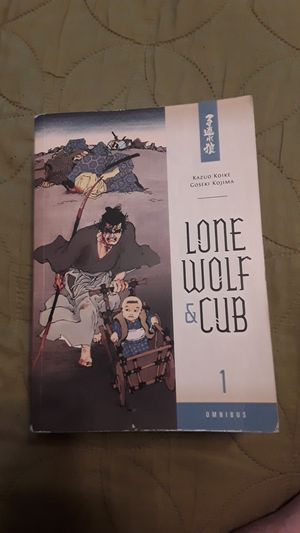 Lone wolf and cub book 1 for Sale in Antioch, CA