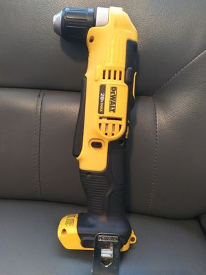 Dewalt angle drill new no battery no charger for Sale in Dallas, TX