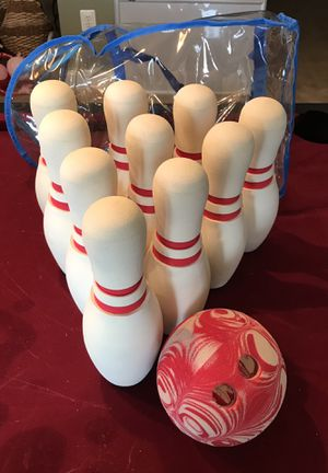 Sturdy Foam Indoor Bowling Set by Crate & Barrel for Sale in Ashburn, VA