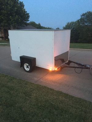 5 x 8 cargo trailer ( title in hand ) 1400 firm for Sale in Grand Prairie, TX